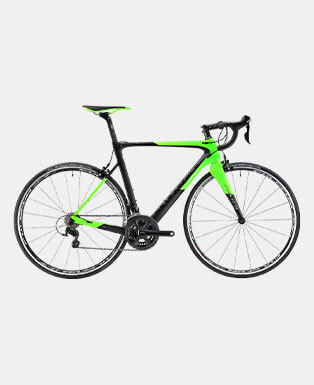 Green Sports Bicycle