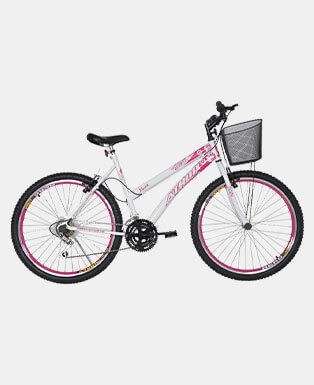 Girl Pink Bicycle